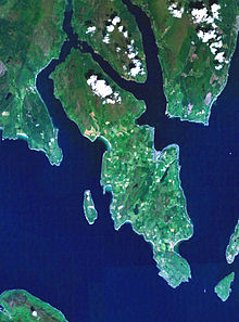 Map Of Bute