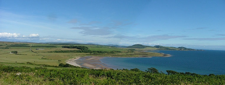A Beach At The Isle Of Bute